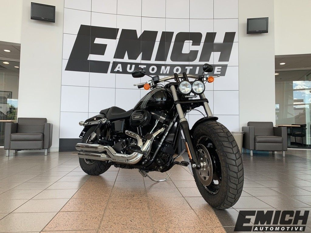 Pre-Owned 2016 Harley-Davidson Fat Bob FXDF