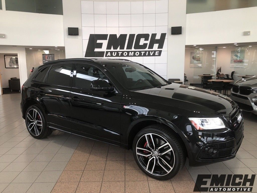 Pre-Owned 2017 Audi SQ5 3.0T Premium Plus