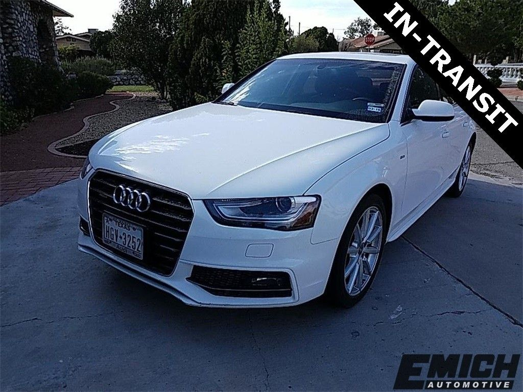 Audi A4 2.0T >> Pre Owned 2016 Audi A4 2 0t Premium Plus Quattro 4d Sedan